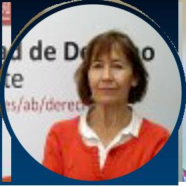 Dra. Rosario Vicente Martínez Catedrática de Derecho Penal, Departamento de Derecho Público.