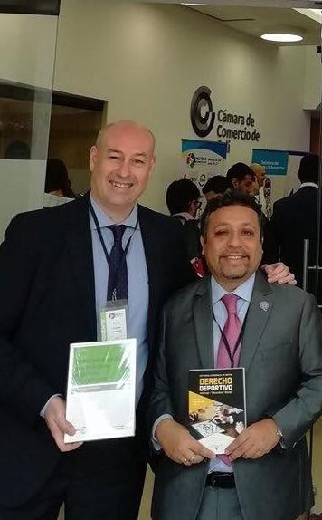 Investigadores de la RIIDGD asisten a 3er Congreso Iberoamericano de Derecho Deportivo (Cali)