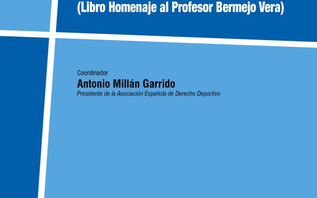 Publicado libro homenaje al profesor José Bermejo Vera