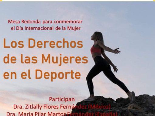 """Celebrada Mesa Redonda """"Los derechos de las mujeres en el deporte"""" (México)"""