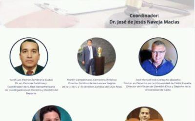 Investigadores de la RIIDGD invitados a Mesa de Análisis internacional